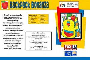 Backpack Bonanza!