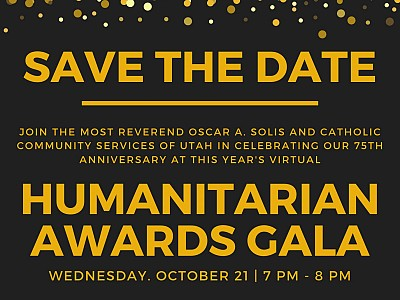 Humanitarian Awards Gala 2020 - Save the Date